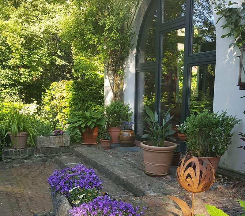 Gartenarchitektur Beispiel